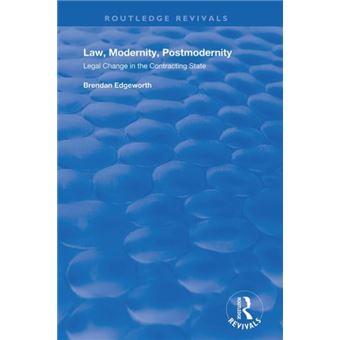 Law, modernity, postmodernity