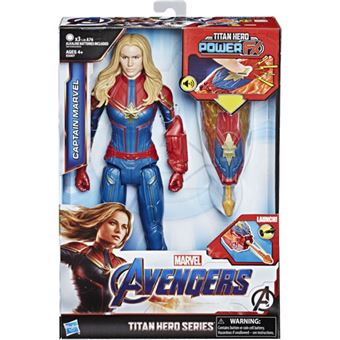 Figura Avengers Titan Hero FX Captain Marvel 30cm - Hasbro