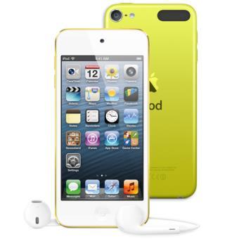 e9c03208572 Apple iPod Touch 64GB Amarelo (5º Gen) - iPod - Compra na Fnac.pt