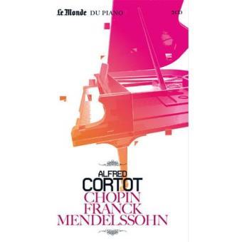 Chopin, Franck & Mendelsshon (2CD+Livro)