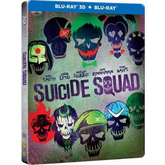Esquadrão Suicida - Caixa Metálica (Blu-ray 3D + 2D)