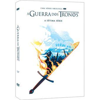 A Guerra dos Tronos - Série 7 - DVD - Game of Thrones Season  7