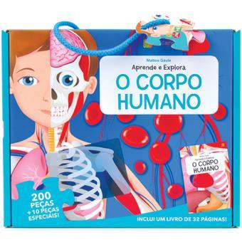 Puzzle e Livro: Aprende e Explora - O Corpo Humano