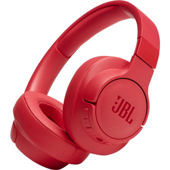 Auscultadores Bluetooth JBL Tune 750BTNC - Vermelho