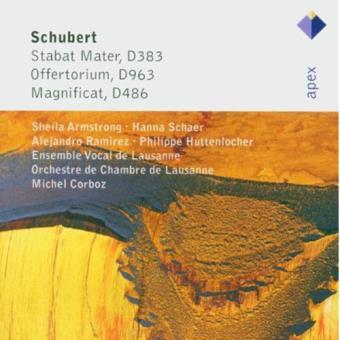 Schubert: Stabat Mater, Offertorium & Magnificat - CD