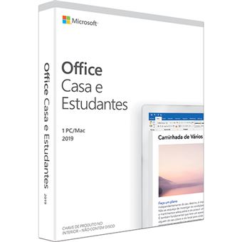 Microsoft Office 2019 Casa e Estudantes - 1 Dispositivo