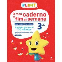 Plim! O Meu Caderno de Fim de Semana - Português e Matemática 3º Ano