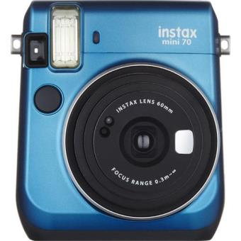 Fujifilm Instax Mini 70 + Carga 10 Fotos (Island Blue)