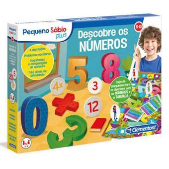 Descobre os Números - Clementoni