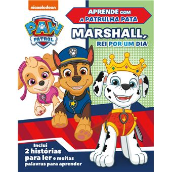 Patrulha Pata: Marshall, rei por um dia
