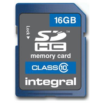 Integral SDHC 16GB Classe 10