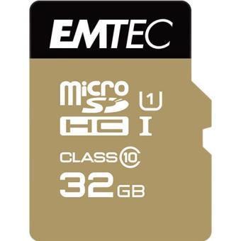 Emtec Cartão MicroSDHC Classe 10 Gold+ 85MB/s - 32GB
