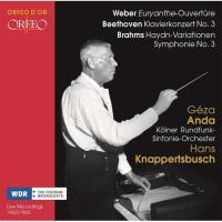 Weber, Beethoven & Brahms: Orchestral Works - 2CD