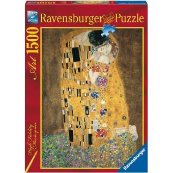 Puzzle Klimt: O Beijo - 1500 Peças