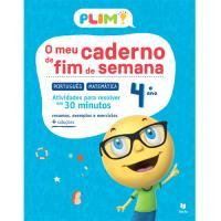 Plim! O Meu Caderno de Fim de Semana - Português e Matemática 4º Ano