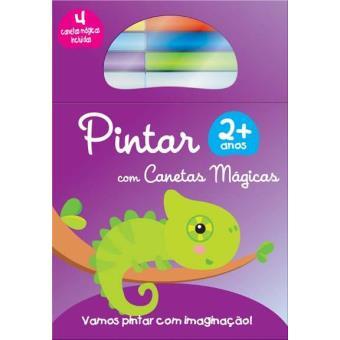 Pintar com Canetas Mágicas - Camaleão +2