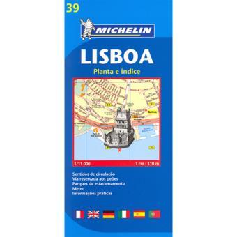 mapa michelin lisboa Mapa Michelin City Plan 39   Lisboa   Vários   Compre Livros na  mapa michelin lisboa