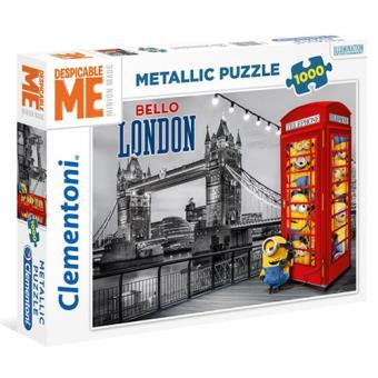 Puzzle Minions Bello London - 1000 Peças - Clementoni