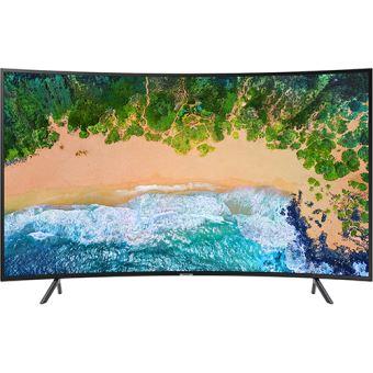 Smart TV Curvo Samsung UHD 4K 55NU7305 140cm