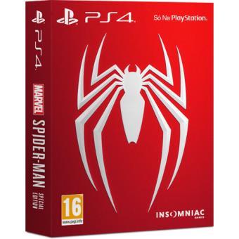 Marvel Spider-Man Edição Especial PS4