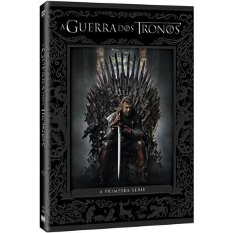 Guerra dos Tronos - 1ª Temporada - DVD - Game of Thrones Season 1