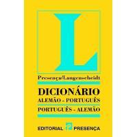 Dicionário Langenscheidt Alemão/Português - Português/Alemão