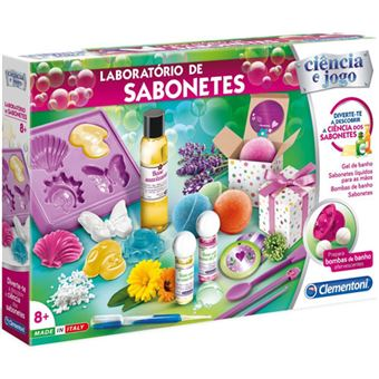 Laboratório de Sabonetes - Clementoni