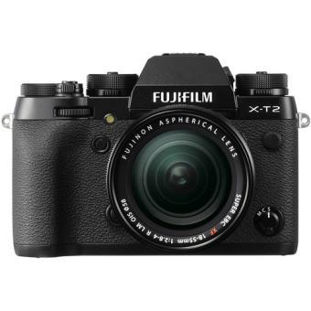 Fujifilm X-T2 + XF 18-55mm f/2.8-4 R LM OIS (Preto)