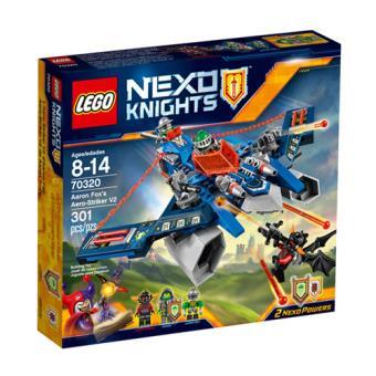 LEGO Nexo Knights 70320 O Atacante Aéreo V2 do Aaron Fox