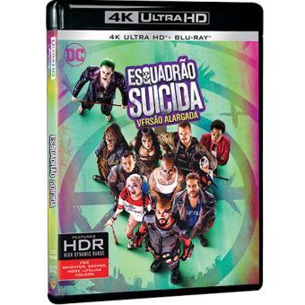 Esquadrão Suicida (4K Ultra HD + Blu-ray)