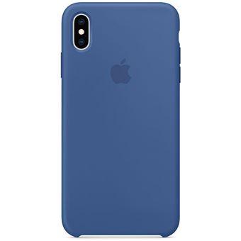 Capa Silicone Apple para iPhone XS Max - Azul Porcelana