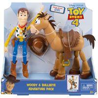 Figura Toy Story 4: Woody & Bullseye - Mattel