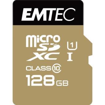 Emtec Cartão MicroSDXC Classe 10 Gold+ 85MB/s - 128GB
