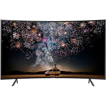 Smart TV Curvo Samsung UHD 4K 55RU7305 140cm