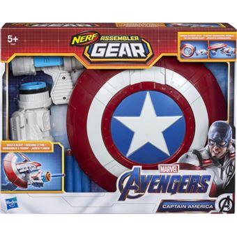 Nerf Avengers Assembler Gear Captain America - Hasbro