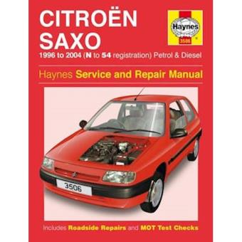 Citroen saxo owners workshop manual