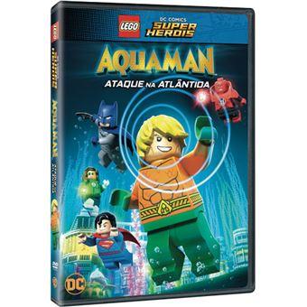 LEGO DC Aquaman: Ataque na Atlândida - DVD