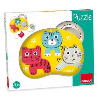 Puzzle 3 Gatos - Goula