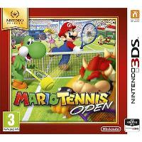 Selects Mario Tennis Open 3DS