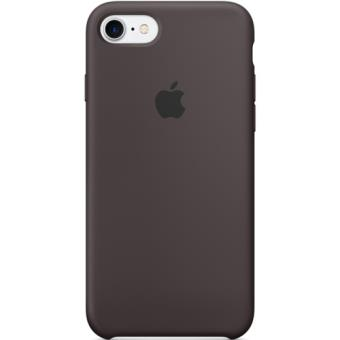 Apple Capa Silicne para iPhone 7 (Cacau)