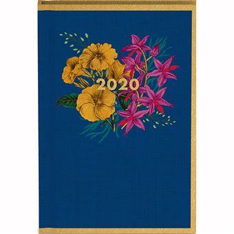 Agenda de Bolso 12 Meses 2020 Gacangift Botânica - Azul