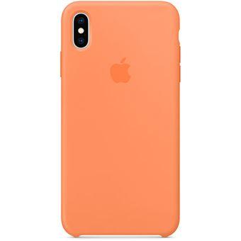Capa Silicone Apple para iPhone XS Max - Papaia