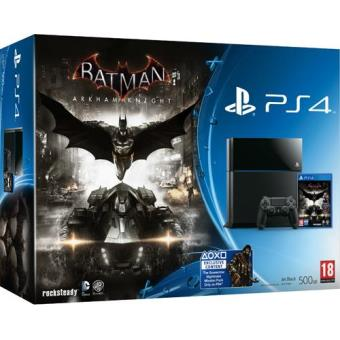 Consola Sony PS4 500GB + Batman: Arkham Knight