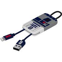 Cabo USB Tribe keyline Lightning Star Wars - R2-D2