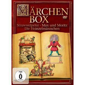 Märchenbox - Struwwelpeter, Max und Moritz und die Heinzelmännchen (3DVD)