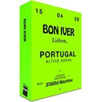 Fã Pack FNAC Bon Iver – Balcão 1   Preço: 46€ Pack + 3.39€ Custos de Operação