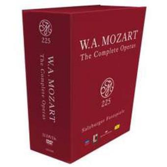 Mozart 225   Complete Operas (33DVD)