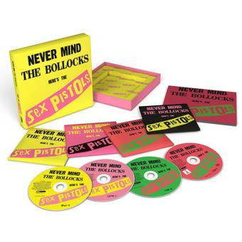 Never Mind The Bollocks, Here's The Sex Pistols  - 3CD + DVD