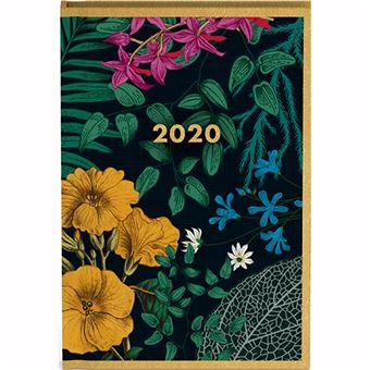 Agenda de Bolso 12 Meses 2020 Gacangift Botânica - Escuro
