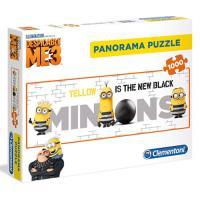 Puzzle Minions Panorama - 1000 Peças - Clementoni